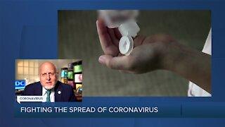 Fighting the spread of the coronavirus
