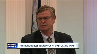 Arbitrators rule in favor of New York State over casino revenue