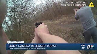 Body camera released from Muskogee officer-involved shooting