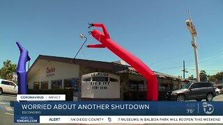 Escondido restaurant owner fears another shutdown
