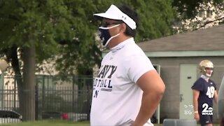 Navy football set for emotional season opener