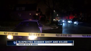 Elderly woman and son say would-be robber shooting was self defense