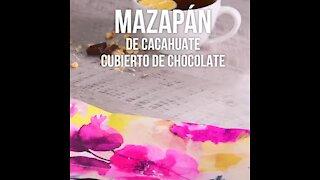 Chocolate Covered Peanut Marzipan