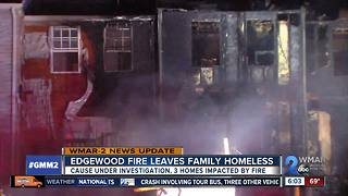 Edgewood fire leaves family homeless