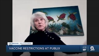 Publix won't give vaccine to certain people who've had COVID-19