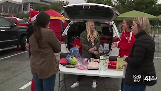Tailgating experience different, atmosphere remains same for Chiefs fans