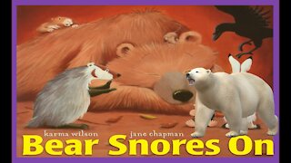 Bear Snores On   Read Aloud   Simply Storytime