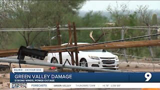 Green Valley cleans up after strong storms