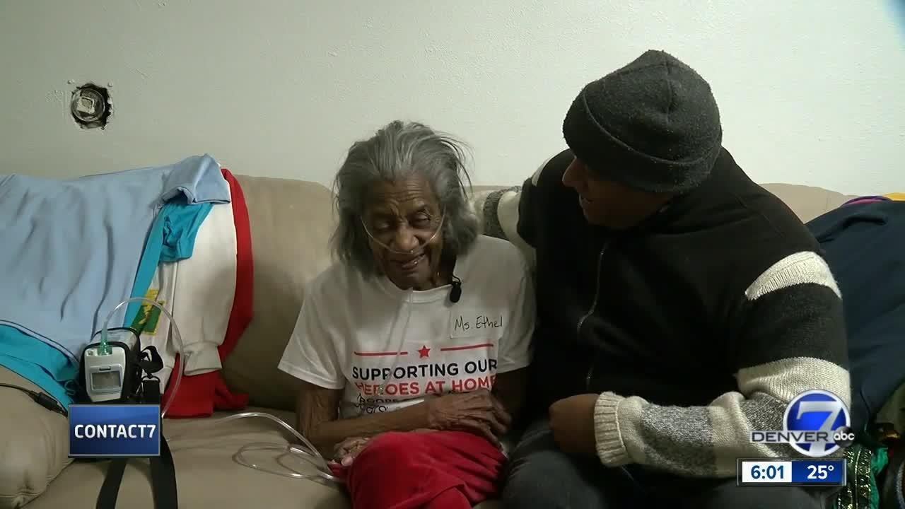 Contact7 helps Denver veteran get mold fixed
