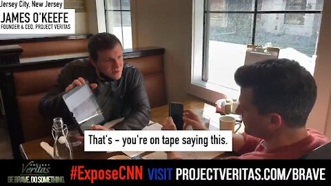 "James O'Keefe CONFRONTS CNN Director Who Admitted CNN is ""Propaganda"" - He Was Terrified!"