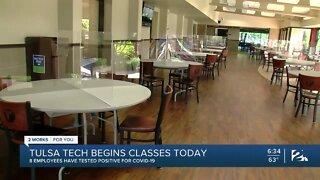 Tulsa Tech Begins Classes Today