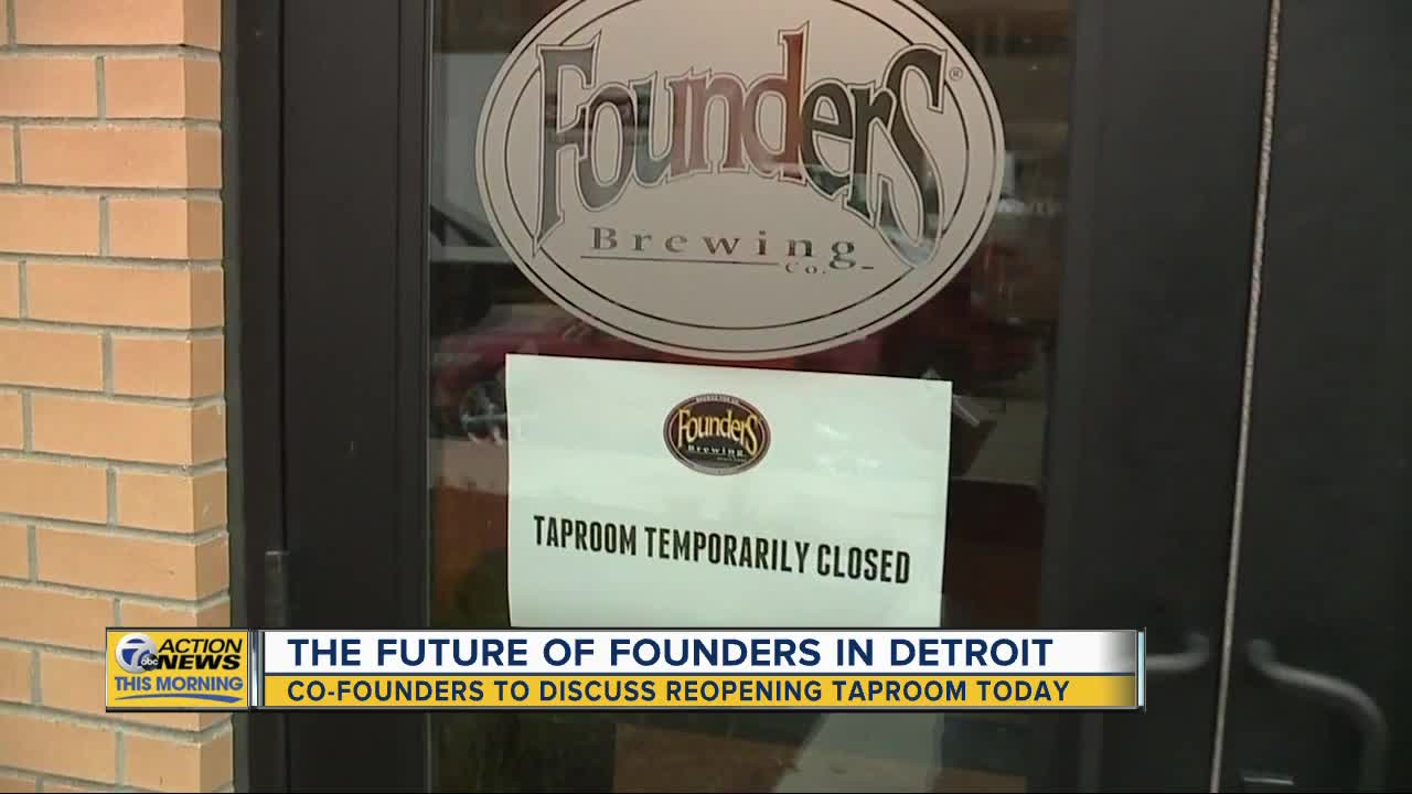 Co-owners of Founders Brewing Co. to discuss reopening plans today