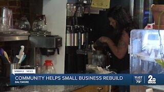 Several businesses vandalized near Patterson Park