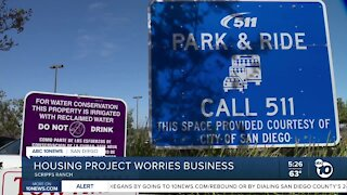 Scripps Ranch housing project worries business
