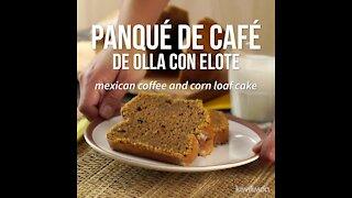 Coffee Pot Pancake with Corn