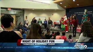 Homicide survivors celebrate holidays together
