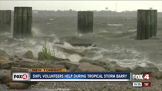 Southwest Florida volunteers help during Tropical Storm Barry