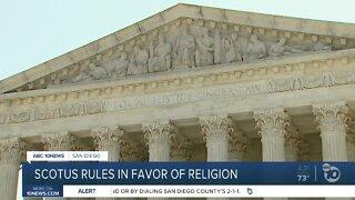 SCOTUS rules in favor of religion