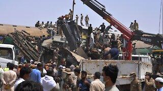 At Least 40 Dead After Pakistan Train Crash