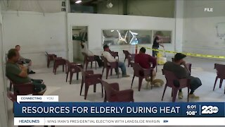 Resources for the elderly during triple-digit heat
