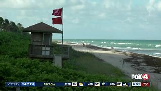 Beaches closed in Martin and Palm Beach counties