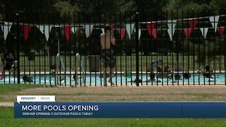 Denver opening 3 more pools today
