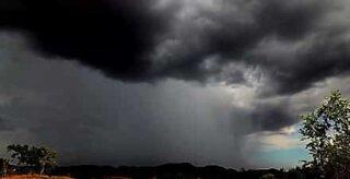 Timelapse viser storm i Australia