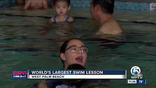 World's Largest Swim Lesson