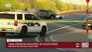 Man critical after police shooting in north Phoenix