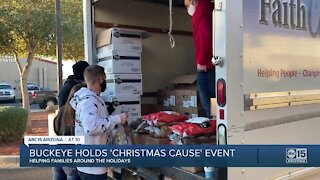 'A Christmas Cause' brings gifts, food, and joy to 350 Buckeye families