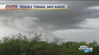 Tornado warning expires in Marana, Picture Rocks