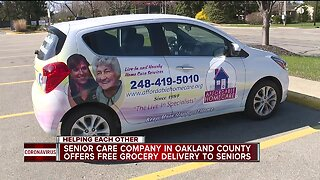 Free grocery delivery for vulnerable Oakland County seniors