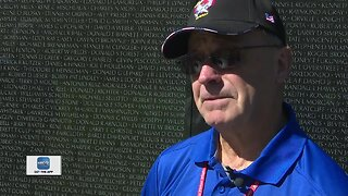 Honor flight an emotional trip for one Vietnam veteran
