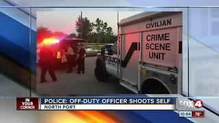 Sarasota Police Officer involved in accidental shooting