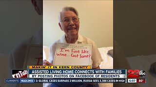 Assisted living home connects with families