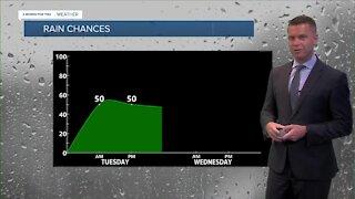 More Rain Tuesday