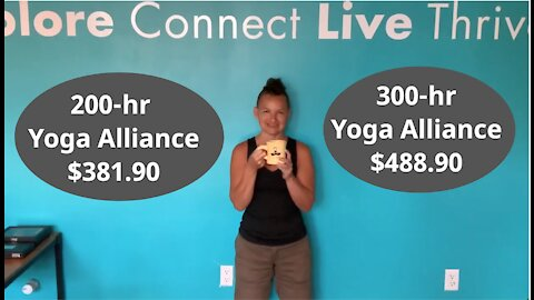 Ayurveda and Yoga Teacher Training 200hr for $381.40 and 300hr for $488.90