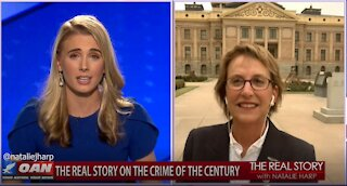 The Real Story - OAN Criminalizing Election Integrity with State Sen. Wendy Rogers