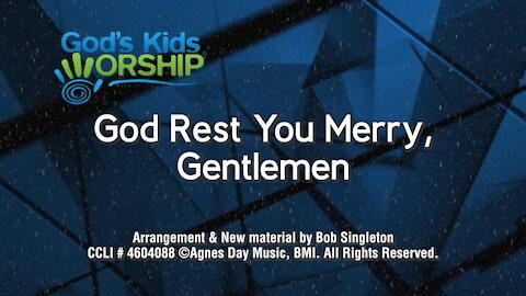 Kids Christmas - God Rest You Merry, Gentlemen