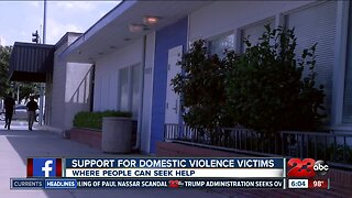 Officials remind community about domestic violence support centers