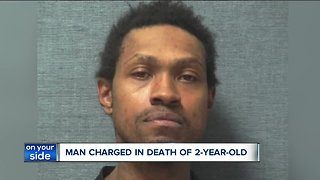 Man charged with murder after allegedly beating a 2-year-old Canton boy to death, records show