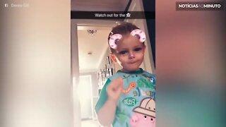 Mãe registra fantasma com filha no Snapchat