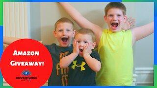 $25 Amazon Gift Card Giveaway! #giveaway