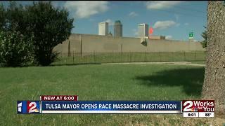 Tulsa Mayor opens Race Massacre investigation