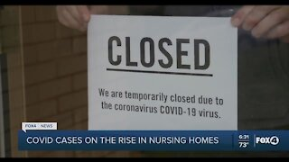 COVID rising concern for long-term care facilities