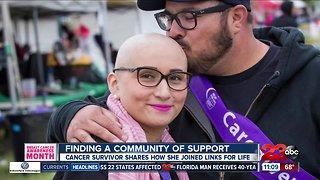 Cancer survivor shares her story