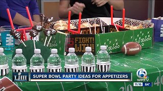 Super Bowl party ideas and appetizers
