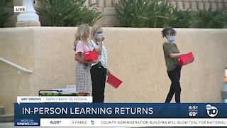 Christian Unified welcomes students back on campus