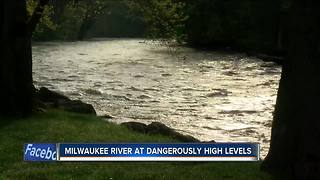 River flooding in Ozaukee Co. leads to dangerous conditions