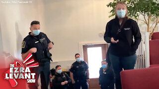 Calgary pastor kicks cops, public health out of his church | Ezra Levant reacts